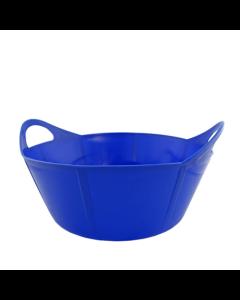 Portabel foderkrubba Flexi Blå 15 L