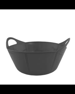 Portabel foderkrubba Flexi Svart 15 L