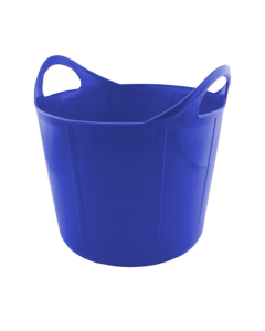 Portabel foderkrubba Flexi Blå 17 L