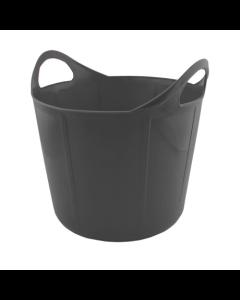 Portabel foderkrubba Flexi Svart 17 L