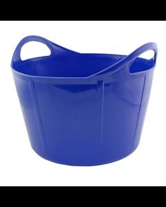 Portabel foderkrubba Flexi Blå 28 L