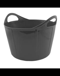 Portabel foderkrubba Flexi Svart 28 L