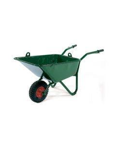 Murbrukskärra Hörby Bruk 100-liters med lyftöglor och luftgummihjul