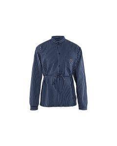 Timmermansskjorta Blåkläder 8810 Marinblå/Vit