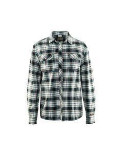 Flanellskjorta Blåkläder 329911369920 Svart/Benvit