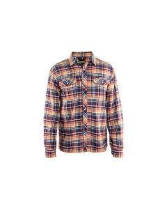 Flanellskjorta Blåkläder 8956 Marinblå/Röd