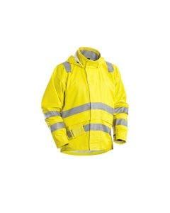 Flamskyddad regnjacka Blåkläder 3300 Gul