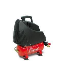 Kompressor Shamal Hobby 230 V S01 6-literstank Oljefri