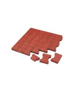 Kraiburg Komfortex Elastic Pavers Halva block 100x165x43 mm