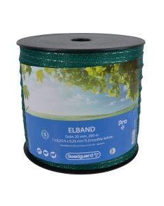 Elband Swedguard Pro+ 20 mm Grön 200 m 1x0,25/4x0,20
