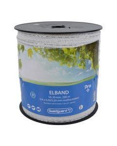 Elband Swedguard Pro+ 20 mm Vit 200 m 2x0,3/4x0,2