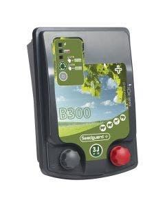 Stängselaggregat Swedguard+ B300 inkl nätadapter