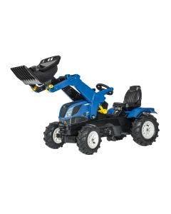 rollyFarmtrac Rolly Toys New Holland med Pneumatiska Hjul