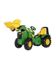 rollyX-Trac Premium Rolly Toys John Deere 8400R med Frontlastare