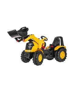 rollyX-Trac Premium Rolly Toys CAT med Frontlastare