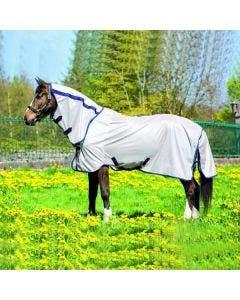 Flugtäcke Horseware Amigo Mio Combohals Brons/Navy