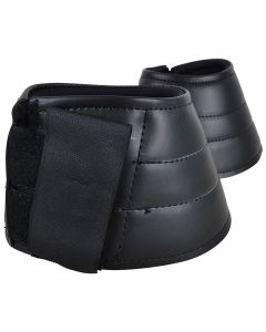Boots i neoprene med utsida av syntetiskt läder svart S-XL