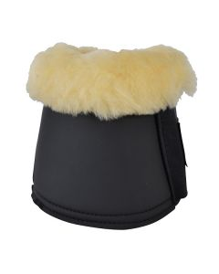 Boots med fårskinn Hansbo Svart
