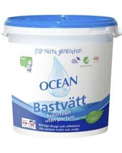 Tvättmedel Ocean Bastvätt Hink Oparfymerad 6,2 kg