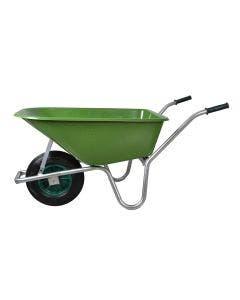 Skottkärra plast 100 liter med Punkteringsfritt hjul