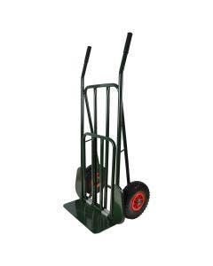 Säckkärra med punkteringsfria hjul,  lastplan