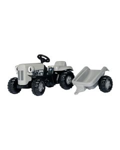 Rolly Toys Tramptraktor  Little Grey Fergie med släp
