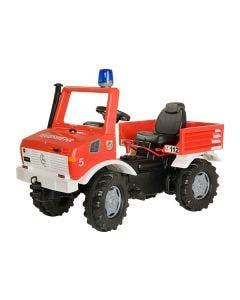 Rolly Toys Räddningsfordon   Unimog Fire med broms