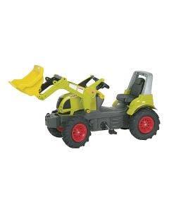 Rolly Toys Tramptraktor Claas   Arion Frontlastare luftdäck