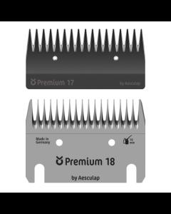 Aesculap Premium Skär för Klippmaskin 18/17 u/ö Nöt
