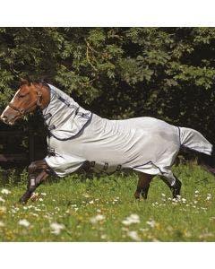 Flugtäcke Horseware Amigo Bug  Buster Silver och marinblå 160 cm