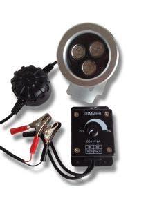 Åtelbelysning Gyttorp LED 3W Dimbar