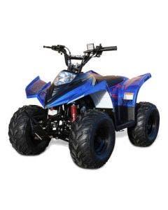 "ATV Fyrhjuling 90cc Ten7 Blå-Metallic 7"" Hjul"