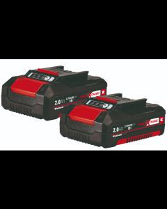 Batteri PXC-Twinpack Einhell 2,0 Ah