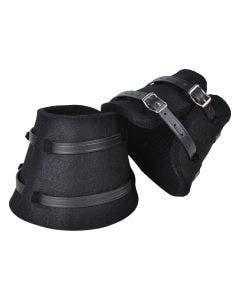 Boots i filt Svart