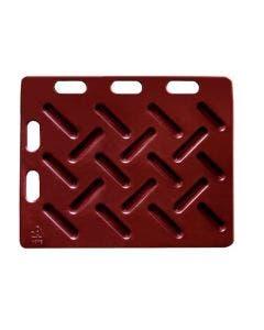 Drivplatta 94 x 76 cm röd