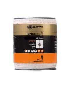 Elband Gallagher Turboline Vitt 12,5 mm