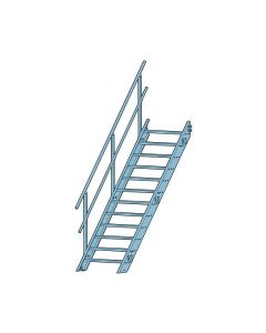Förlängningsdel Skeppshultstegen Alu.trappa 900