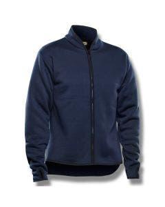 Fiberpälsjacka skogsmodell Blåkläder Mörkblå