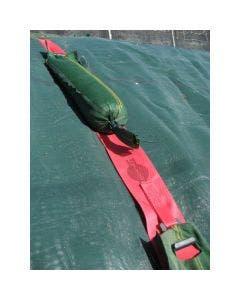 Fixeringsband för sandsäck 4,3 m 5+1 krok
