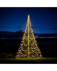 Julbelysning Fairybell 6 m 2000 LED 20W Varmvit ink väska och förlängningskabel
