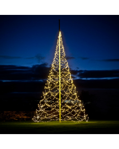 Julbelysning Fairybell 8 m 1500 LED 20W Varmvit