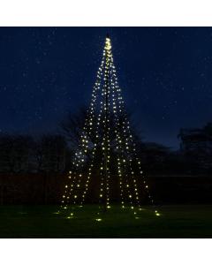 Julbelysning Standard 6 m 360 LED 20W Varmvit