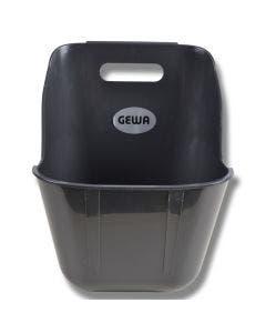 Foderkrubba GEWA 11 liter Antracitgrå