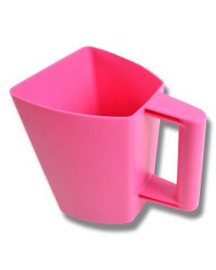 Foderskopa plast 2 liter rosa