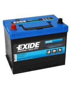 Fritidsbatteri 12V –  80 Ah Tudor/Exide TR350 Marine Dual & Multifit
