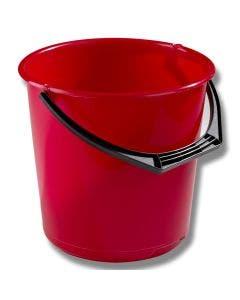 Hink 10 liter Röd