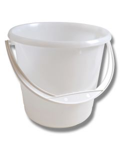 Hink 5 liter Naturvit