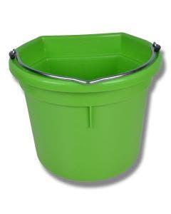 Hink flat sida 20 liter äppelgrön