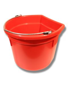 Hink flat sida röd 20 liter