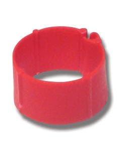 Hönsringar 25-pack Röd